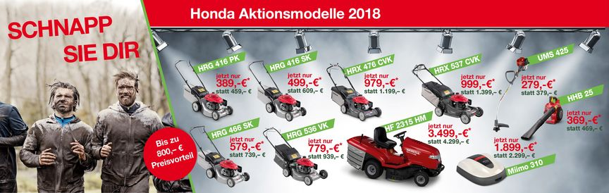 Aktionsmodelle 2018